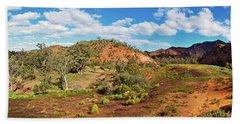 Bracchina Gorge Flinders Ranges South Australia Beach Sheet by Bill Robinson