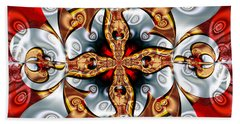 Braggadocio Beach Towel