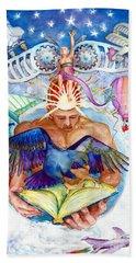 Brain Child Beach Towel by Melinda Dare Benfield
