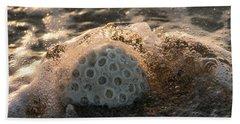 Brain Coral Splash Delray Beach Florida Beach Sheet
