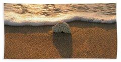 Brain Coral Wave Beach Sheet