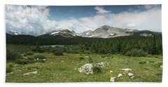 Brainard Lake Beach Towel