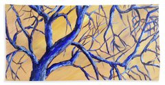 Branches Of Blue Beach Sheet