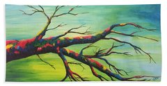 Branching Out In Color Beach Towel