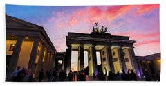 Branderburg Gate Beach Towel