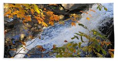 D30a-18 Brandywine Falls Photo Beach Towel