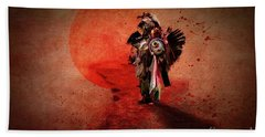 Brave Warrior Beach Towel