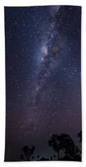 Beach Towel featuring the photograph Brazil By Starlight by Alex Lapidus