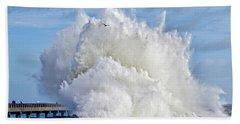 Breakwater Explosion Beach Towel