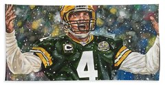 Brett Favre Beach Towel