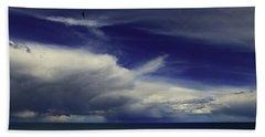 Beach Sheet featuring the photograph Brewing Up A Storm by Nareeta Martin