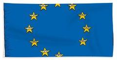 Brexit Eu Flag  Beach Sheet