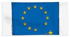 Brexit Eu Flag  Beach Towel
