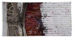 Bricked In Beach Sheet by Tim Good
