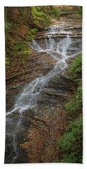 Beach Towel featuring the photograph Bridal Veil Falls by Dale Kincaid