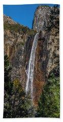 Bridal Veil Falls - My Original View Beach Towel