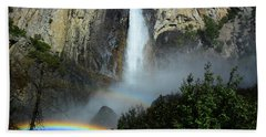 Bridalveil Falls Rainbows Beach Towel