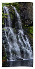 Beach Towel featuring the photograph Bridesmaid's Falls by Raymond Salani III