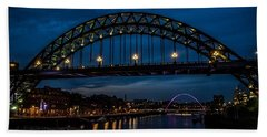 Bridge At Dusk Beach Towel