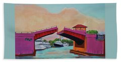 Bridge At Se 3rd Beach Towel