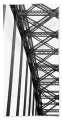 Beach Sheet featuring the photograph Bridge by Brian Jones