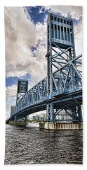 Bridge Of Blues II Beach Towel
