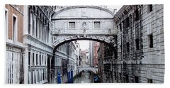 Bridge Of Sighs Beach Towel