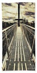 Bridge Of Suspension  Beach Towel
