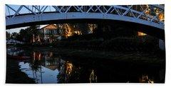 Bridge Over Lights Beach Sheet