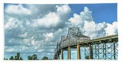 Bridge Over Mississippi River Beach Towel