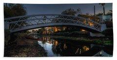 Bridge Over Shadows Beach Sheet