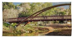 Bridge Over The Creek Beach Towel