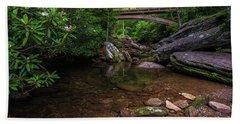 Bridge Over Wilson Creek Beach Towel