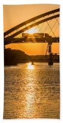 Bridge Sunrise #2 Beach Towel