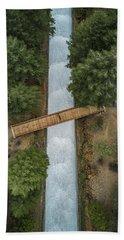 Bridge The Gap Beach Towel