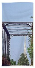 Bridge To God Beach Towel