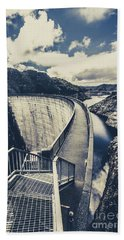 Bridges And Outback Dams Beach Towel