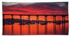 Bridgescape Beach Towel