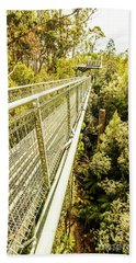 Bridging Forests  Beach Towel