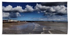 Bridlington Coastline Beach Towel