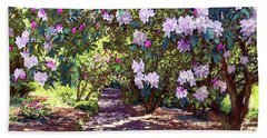 Bright And Beautiful Spring Blossom Beach Sheet