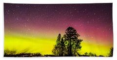 Bright Aurora Beach Sheet