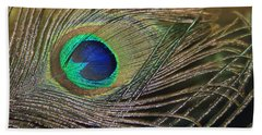 Bright Feather Beach Towel