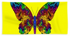 Beach Towel featuring the digital art Bright Transformation by Barbara Tristan