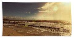 Beach Sheet featuring the photograph Brighton Beach Pier by Douglas Barnard