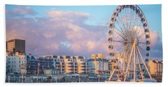 Brighton Ferris Wheel Beach Sheet