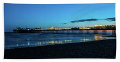 Brighton Pier At Sunset Ix Beach Sheet