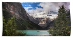 Brilliant Lake Louise Beach Towel