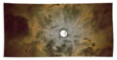 Brilliant Night Sky Beach Towel