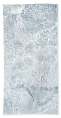 Beach Towel featuring the photograph Brilliant Shine. Series Ethereal Blue by Jenny Rainbow